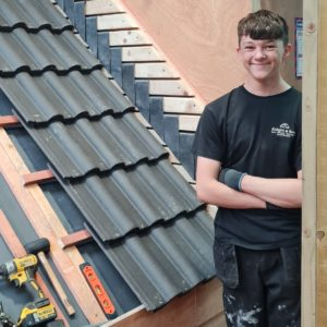 Master Roofers gives a leg up to a talented young student